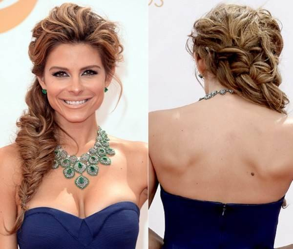 LOS ANGELES, CA - SEPTEMBER 22: TV personality Maria Menounos arrives at the 65th Annual Primetime Emmy Awards held at Nokia Theatre L.A. Live on September 22, 2013 in Los Angeles, California. (Photo by Jason Merritt/Getty Images)
